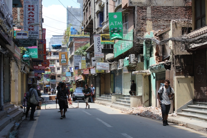 Nepal: Re-conociendo Thamel